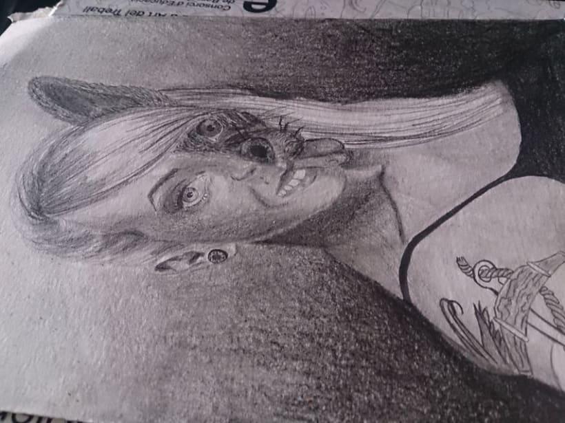 Auto-retrato fantastico -1