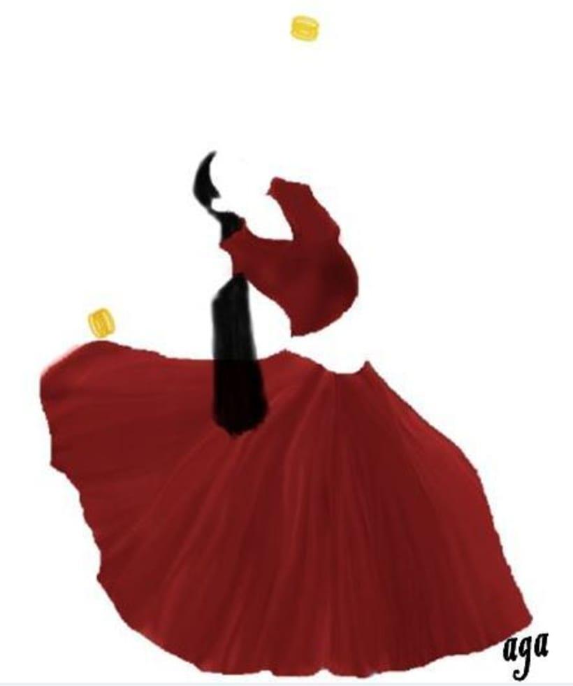 Dance, proyecto de logo para una academia de baile de Bollywood -1
