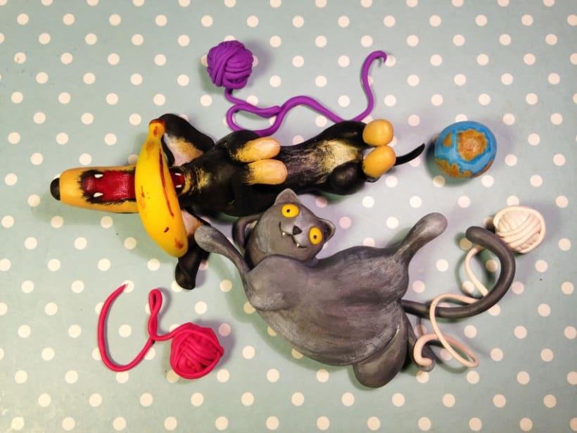 Dos Momos y dos Bananas -1