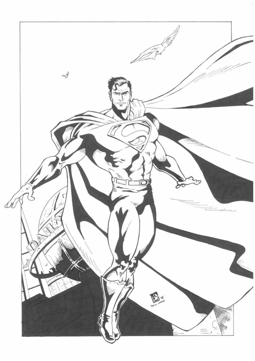 superman by Raul Lara 0