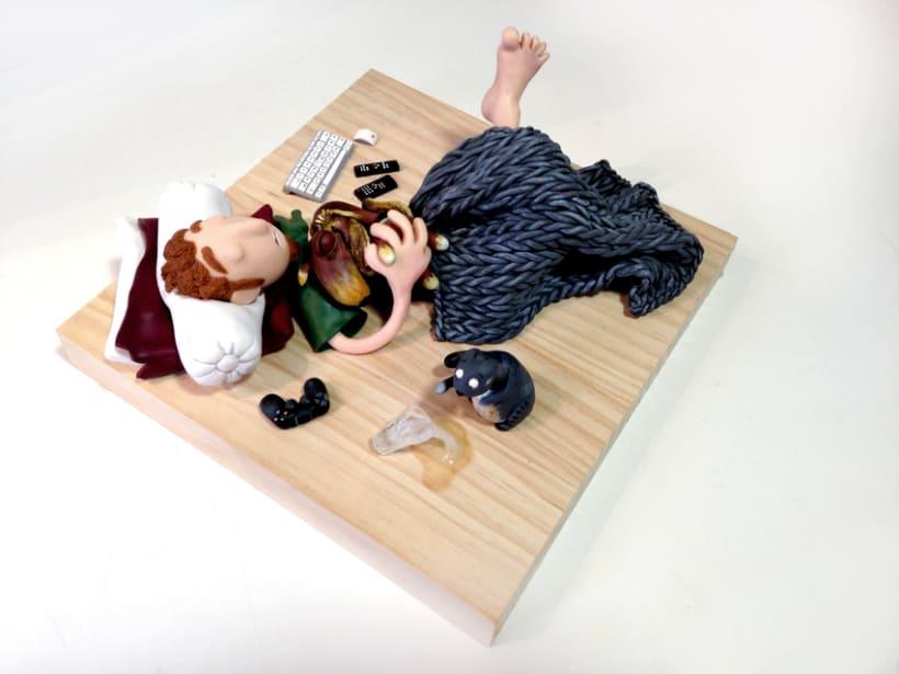 La siesta de Pablo, Tera y Bengala 1