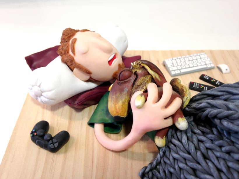 La siesta de Pablo, Tera y Bengala 3