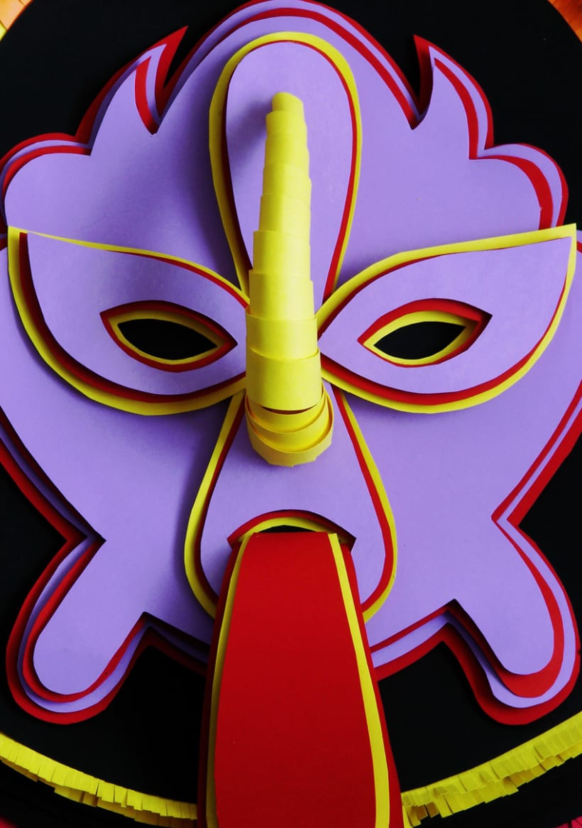 Máscaras, Parte 1. 4