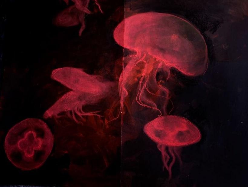 """Pintura para la exposición """"Set in Black"""" -1"""