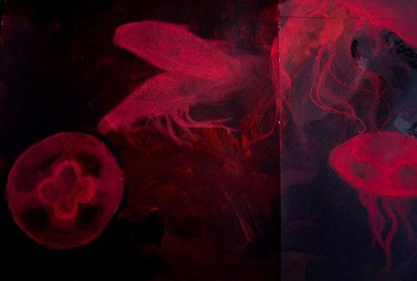 """Pintura para la exposición """"Set in Black"""" 0"""