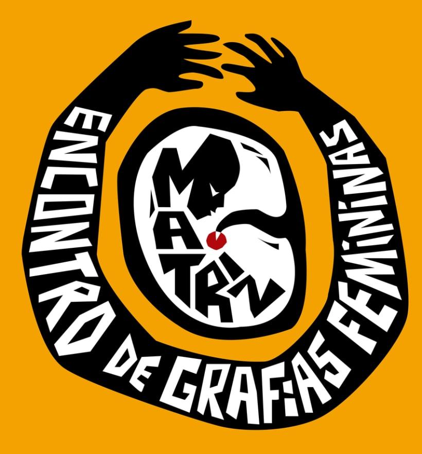 Logotipo Matriz - Encontro de Grafias Femininas 0