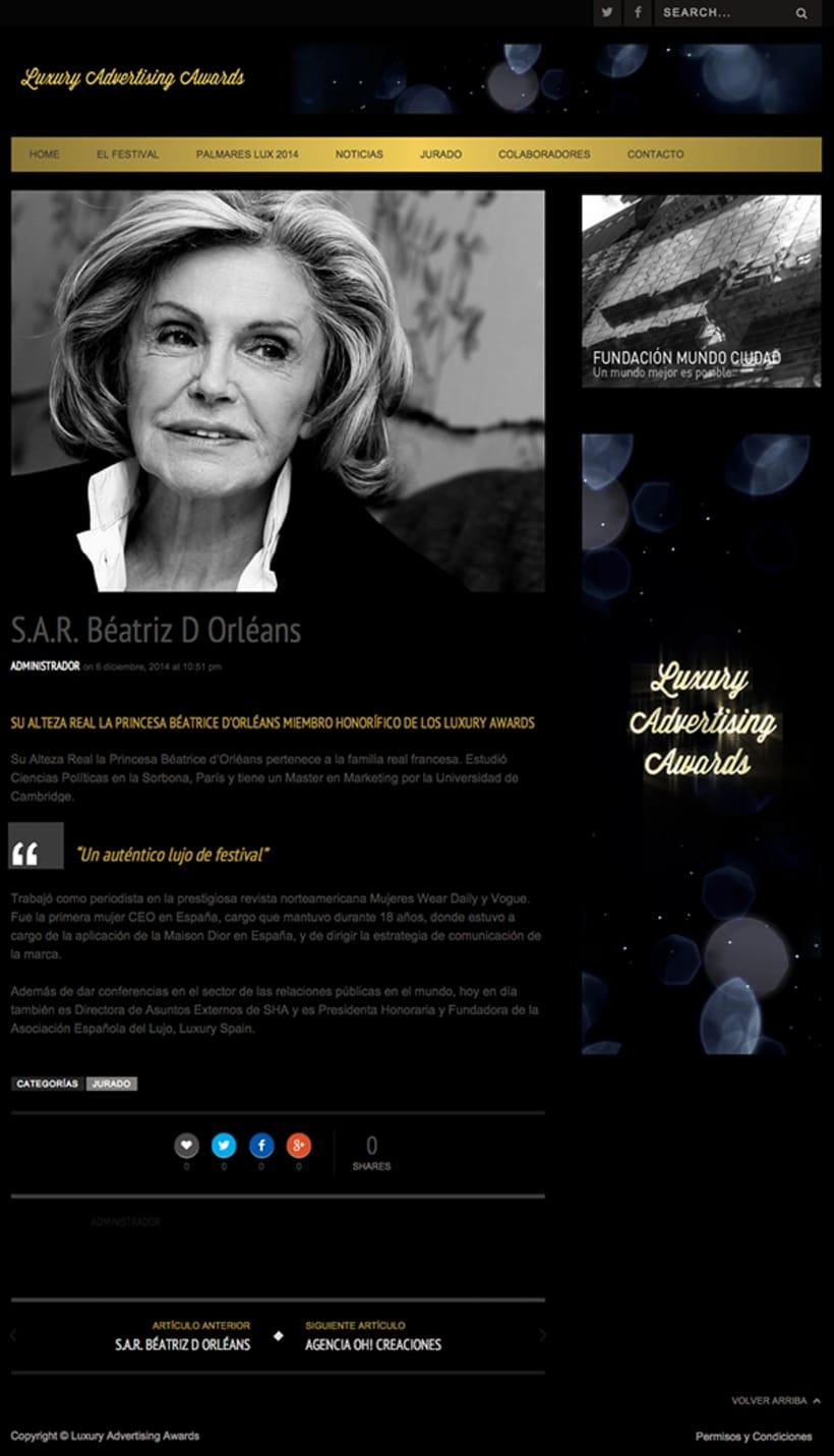 Luxury Advertising Awards Web 3