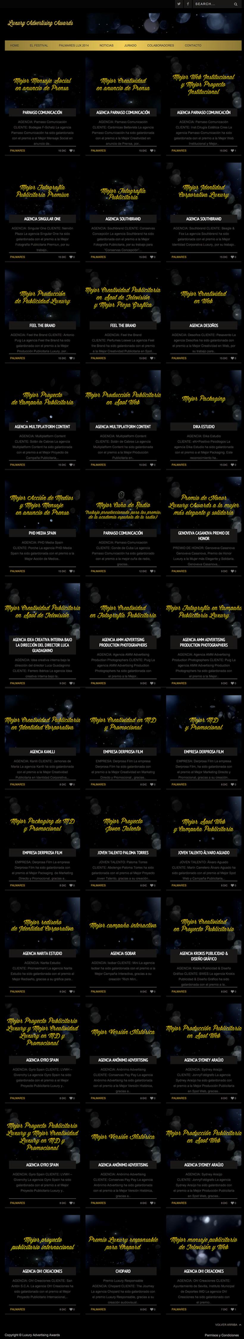 Luxury Advertising Awards Web 4