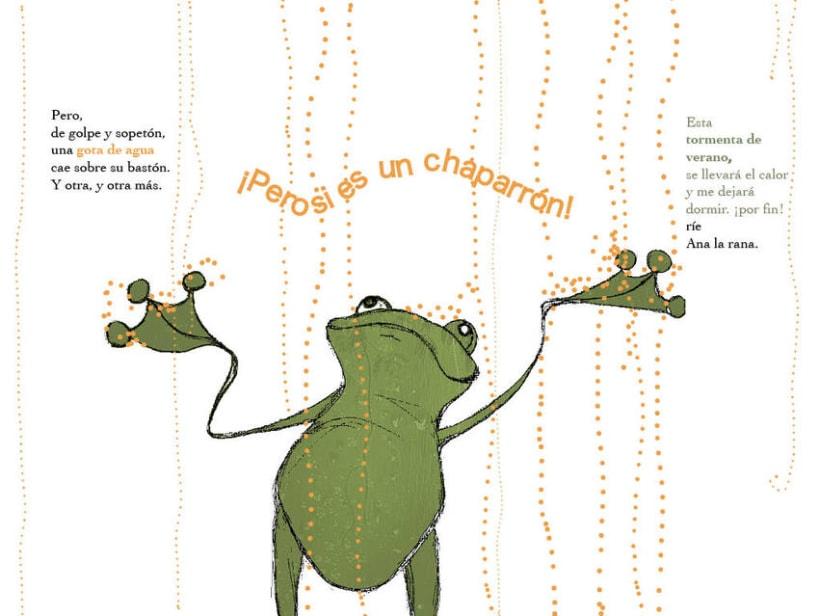 La rana que no durmió en una semana 3