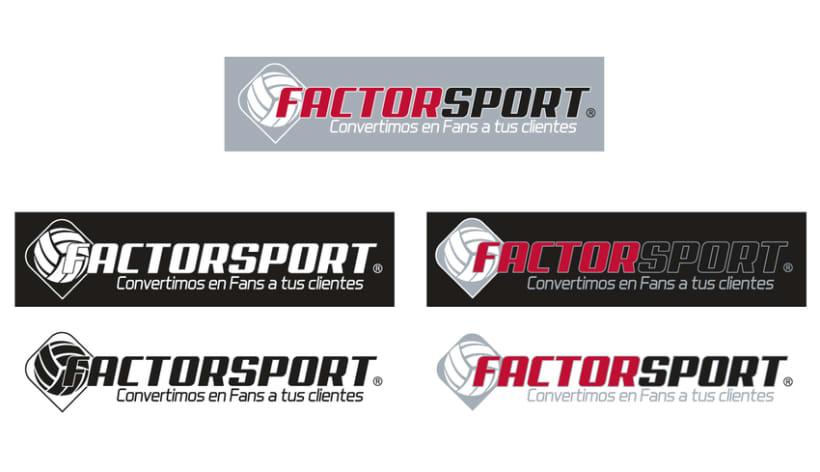 Branding Factor Sport 1