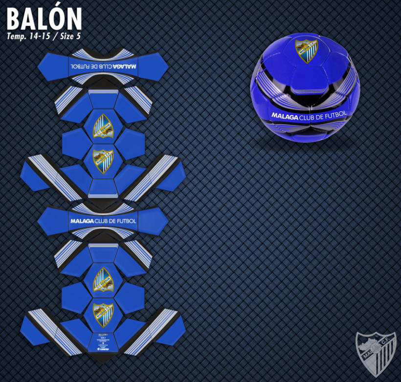 Malaga CF / Merchandising Products 8