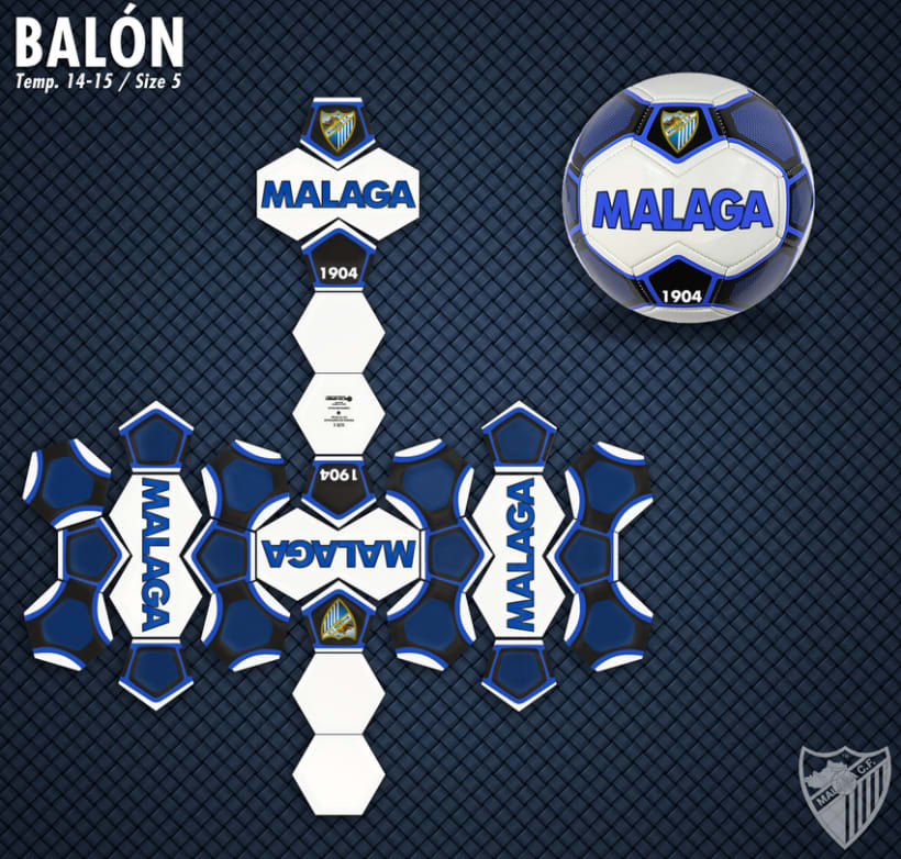 Malaga CF / Merchandising Products 9