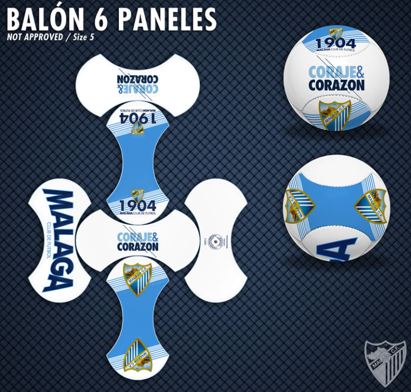 Malaga CF / Merchandising Products 10