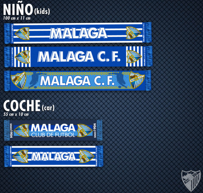 Malaga CF / Merchandising Products 6