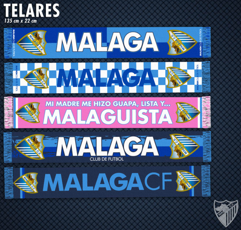 Malaga CF / Merchandising Products 3