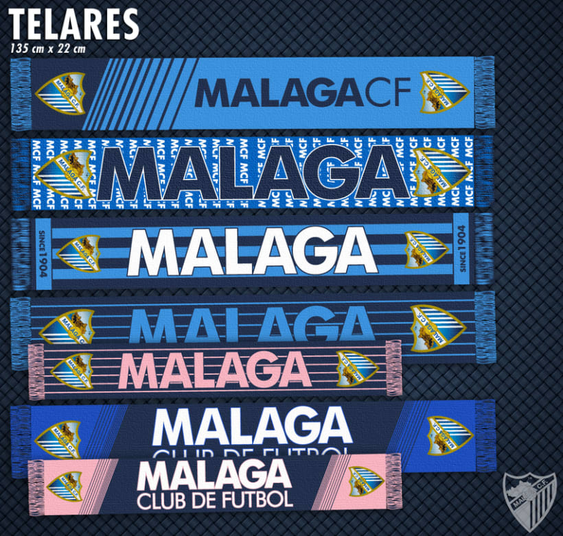 Malaga CF / Merchandising Products 2
