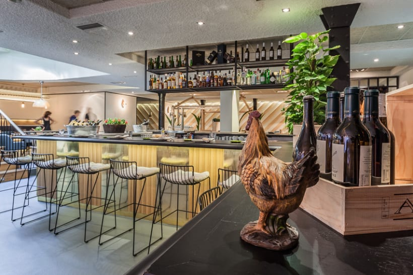 Restaurante Rooster, Madrid 0