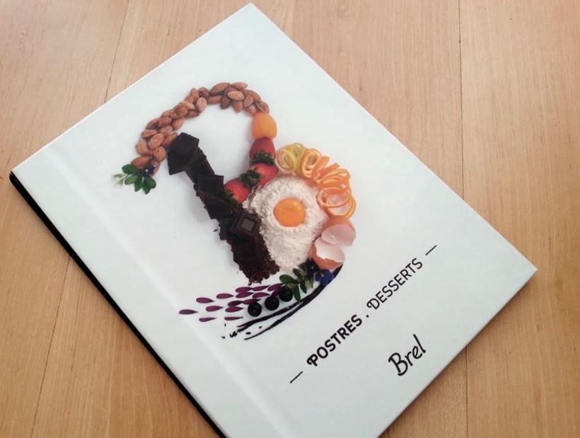 Restaurante Brel | Diseño de cartas + señalética 9