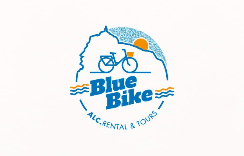 Blue Bike | rental & tours Estrategia de comunicación y Branding 0