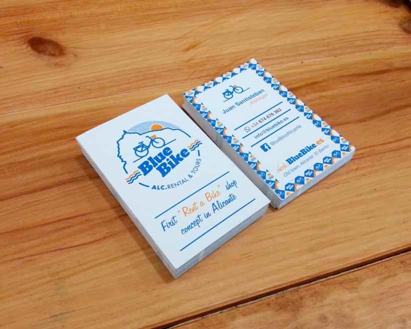 Blue Bike | rental & tours Estrategia de comunicación y Branding 1