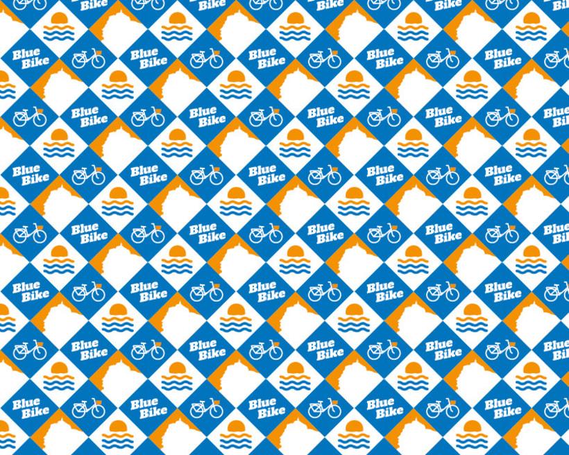 Blue Bike | rental & tours Estrategia de comunicación y Branding 2