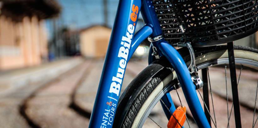 Blue Bike | rental & tours Estrategia de comunicación y Branding 4
