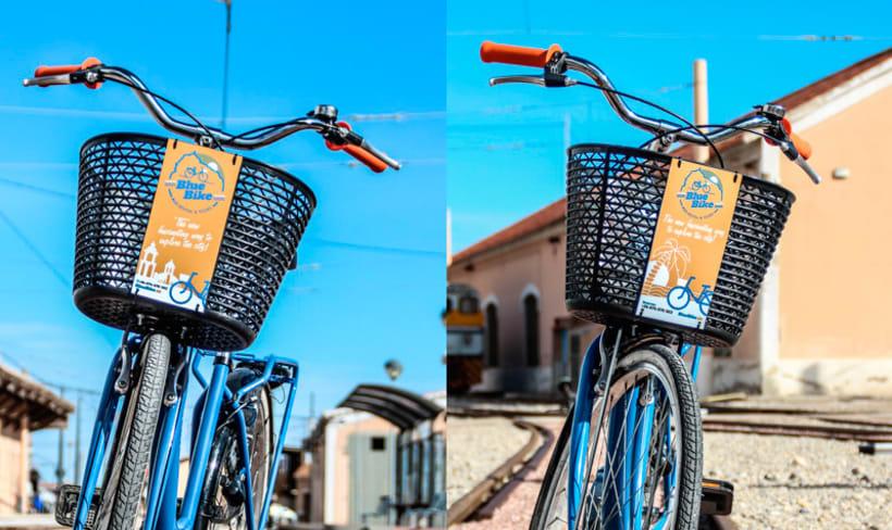 Blue Bike | rental & tours Estrategia de comunicación y Branding 6