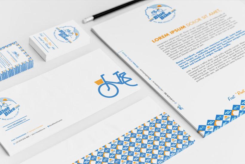 Blue Bike | rental & tours Estrategia de comunicación y Branding 3