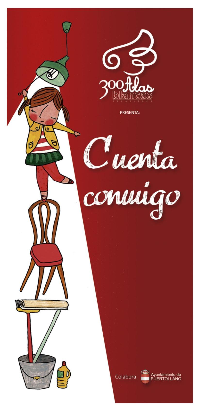 Cartel, ilustración y folleto publicitario 0