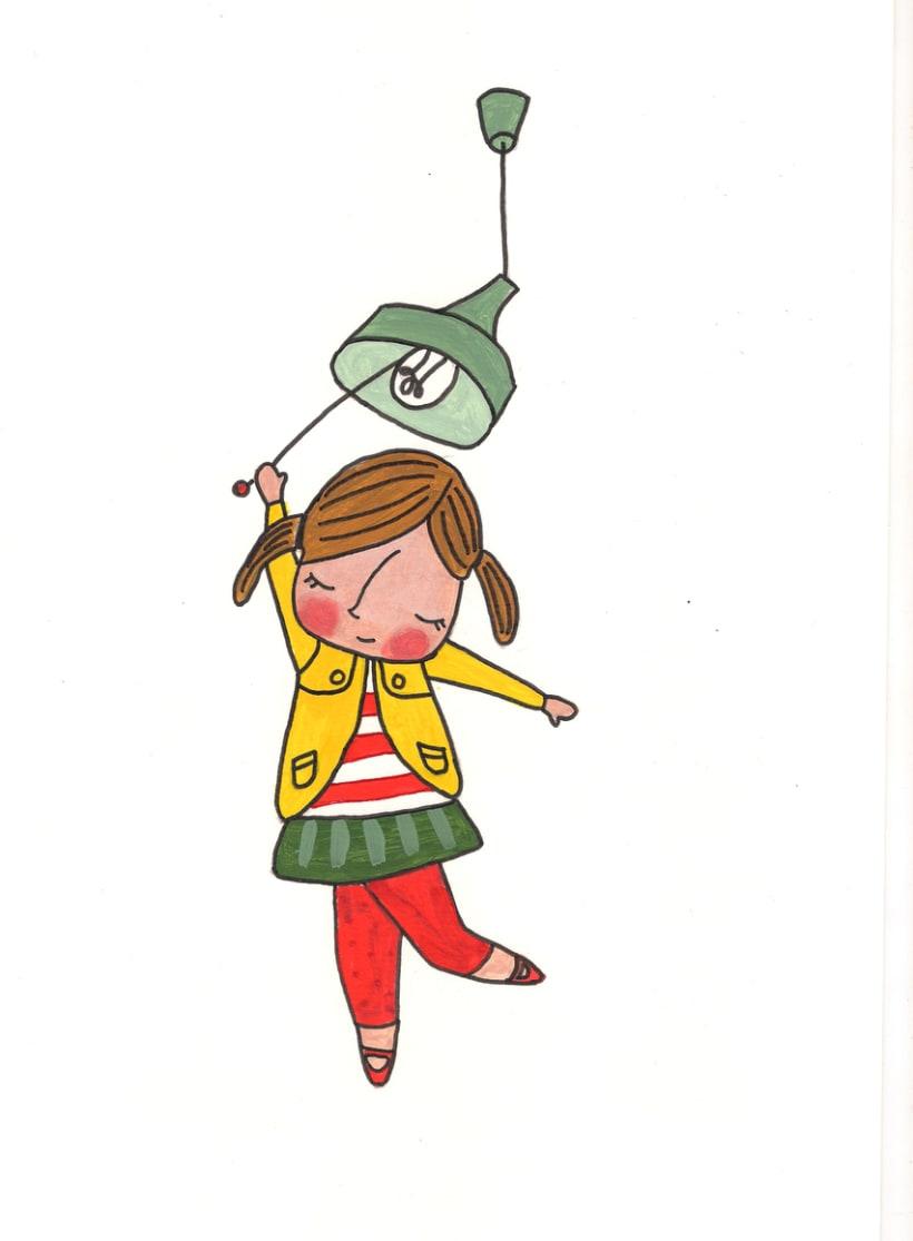 Cartel, ilustración y folleto publicitario 1
