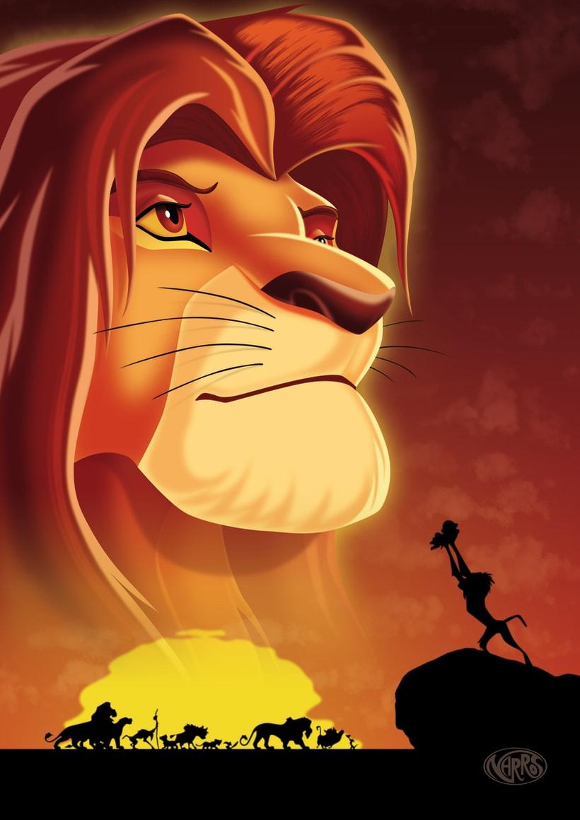 Ilustración Disney 1