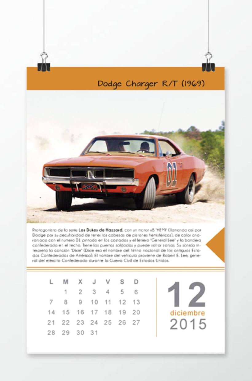 Calendario coches -1