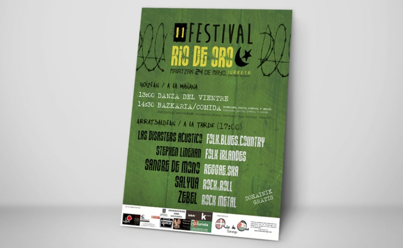 "Cartel ""Festival Rio de Oro"" -1"