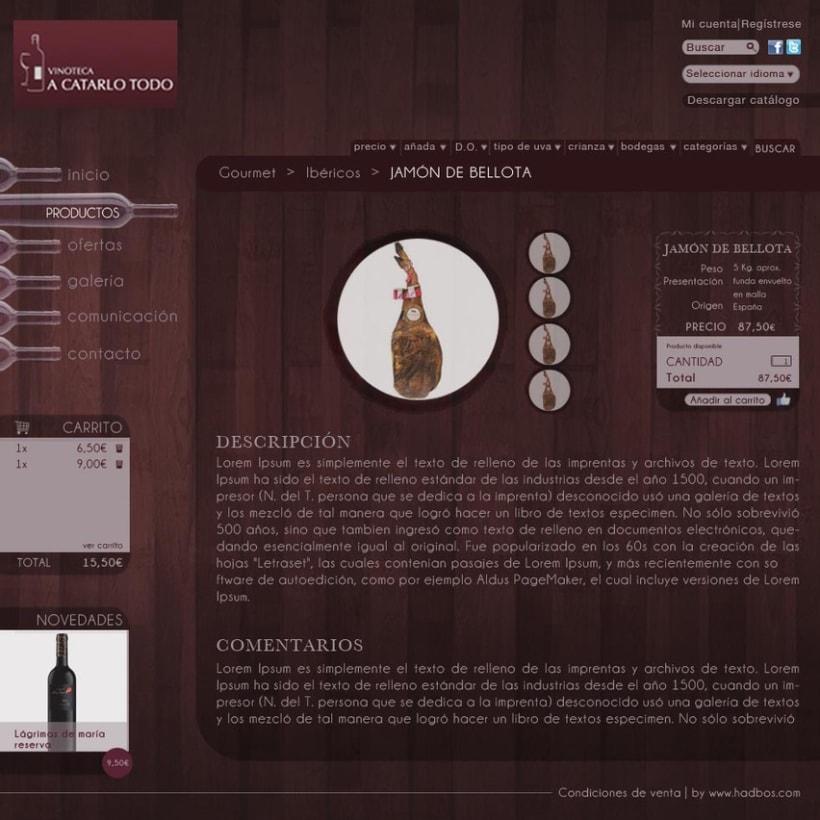 Diseño de plantilla tienda online 0