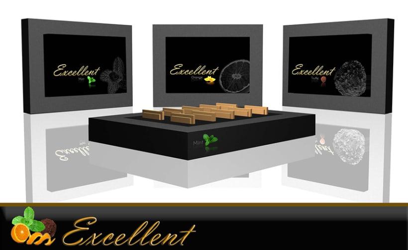 "Packaging  de galletas ""Excellent"" -1"
