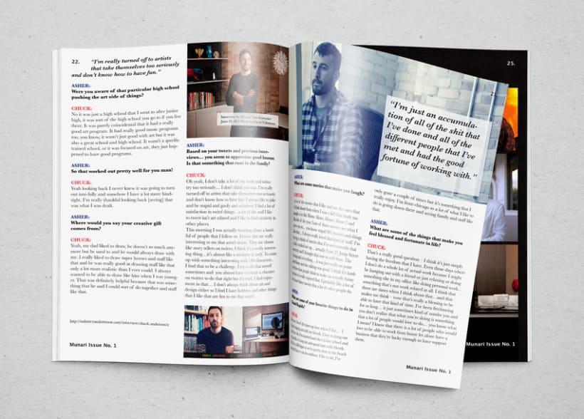 Mi Proyecto del curso  Introducción al Diseño Editorial 6