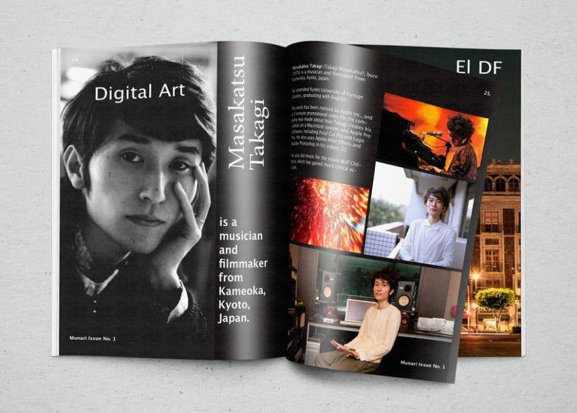 Mi Proyecto del curso  Introducción al Diseño Editorial 7