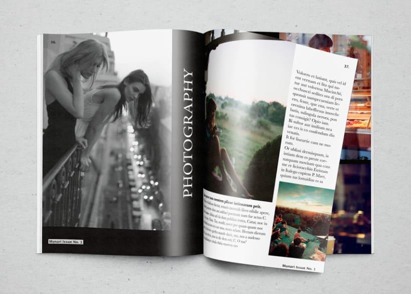 Mi Proyecto del curso  Introducción al Diseño Editorial 9