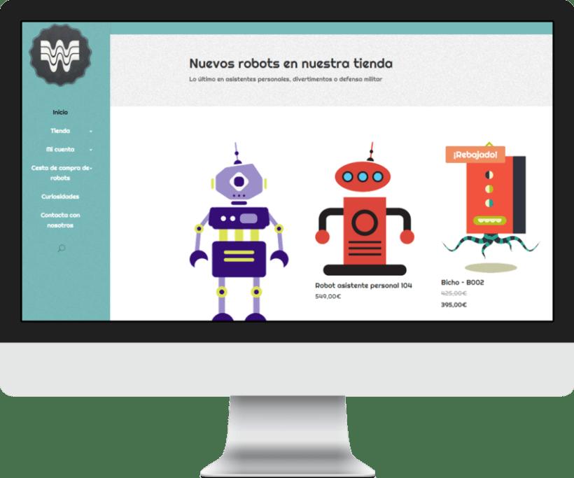 Woopa, tienda online Wordpress + Woocommerce 0