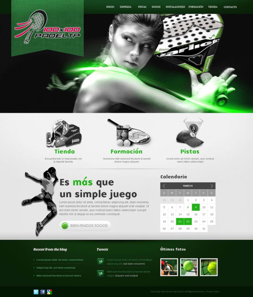 Diseño imagen y web empresa padel -1