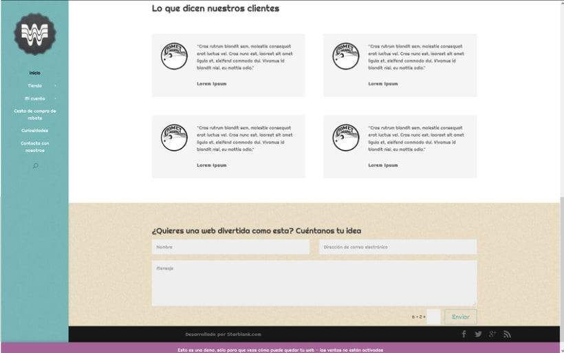 Woopa, tienda online Wordpress + Woocommerce 1