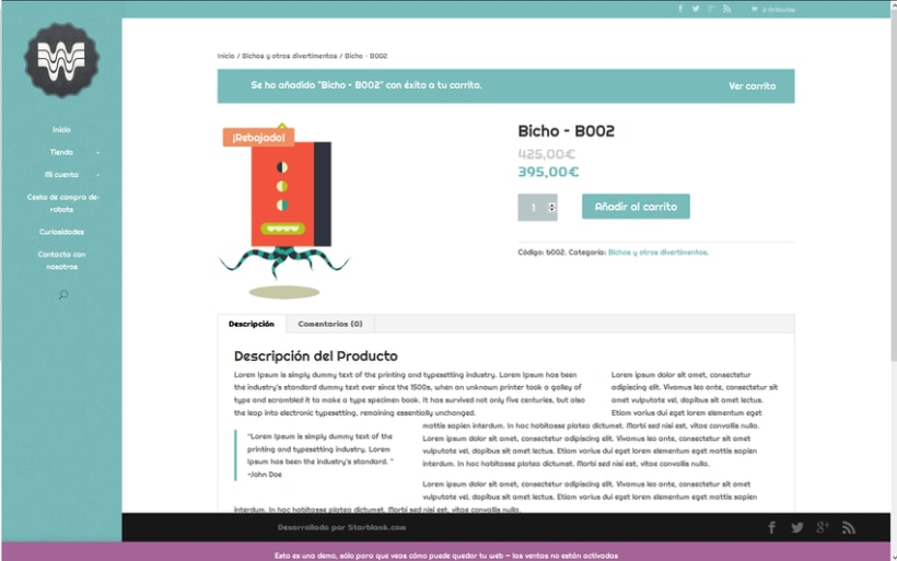 Woopa, tienda online Wordpress + Woocommerce 2
