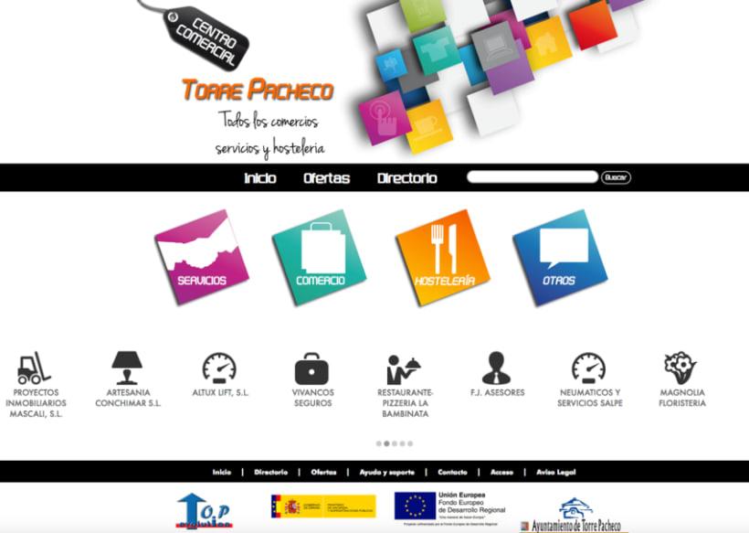 Diseño portal web servicios -1