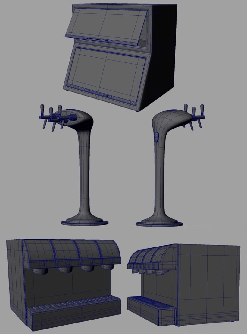 3D - Restaurante 0