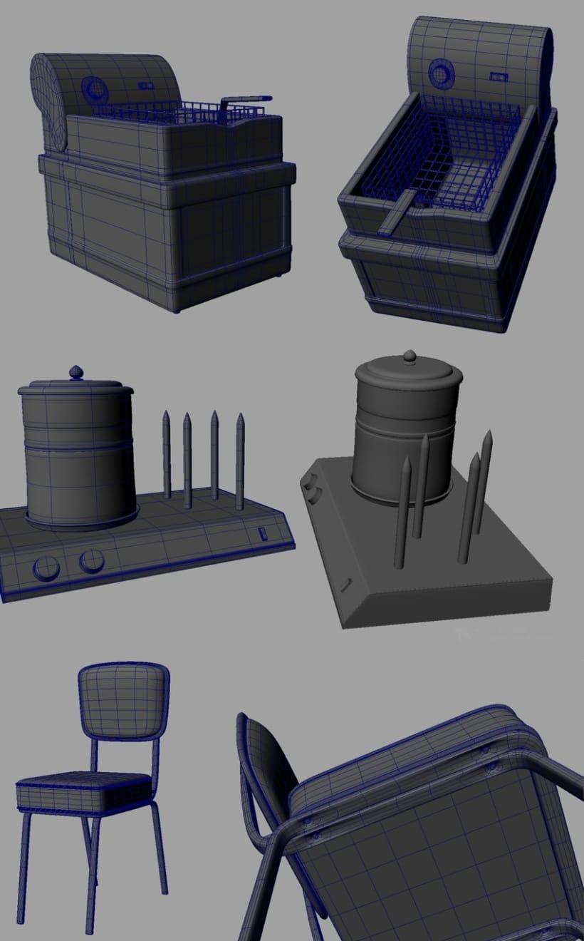 3D - Restaurante 1