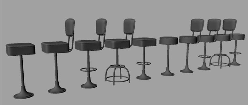 3D - Restaurante 2