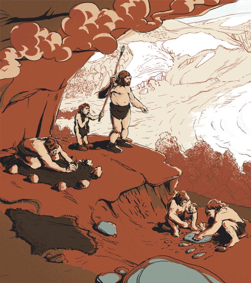 El Neandertal en Málaga 2