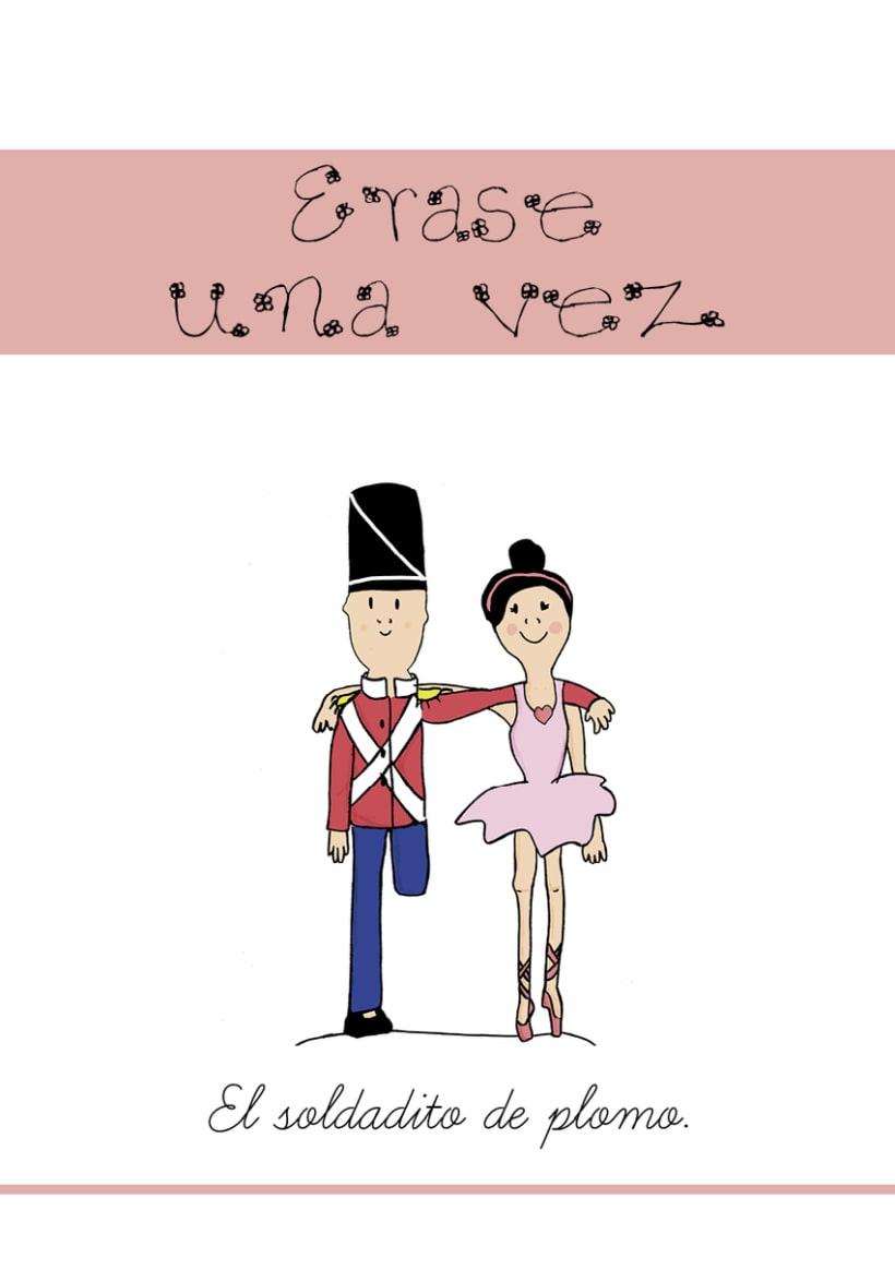 Ilustración portadas cuentos -1