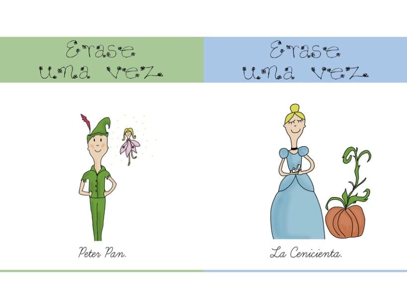 Ilustración portadas cuentos 1