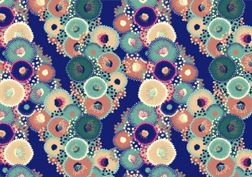 Tropical Waters - Pattern Collection - 5